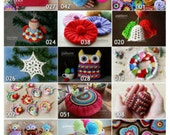 Crochet Patterns - Pick Any 10 Crochet and Knitting Patterns Bundle