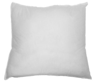 "Sham Stuffer Square Hypoallergenic Pillow Form Insert Polyester, Standard / White  18"" X 18"""