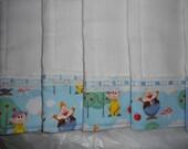 Burp Cloths Set, Disney's 7 Dwarfs