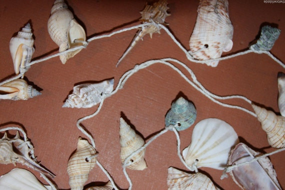 4 Pcs 48 Inch Seashell Garland Four Foot