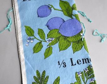 "Tea Towel ""Dressing Herbs"" Tea Towel - Lois Lone"