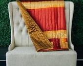 Sari Quilt - Kantha Quilt...
