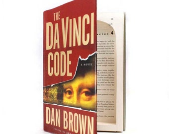 Da Vinci Code Hollow Book Safe - by Dan Brown - Secret Storage Book