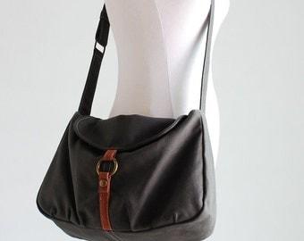 CHRISTMAS in July 30% + Mysterious Gift - Fortuner-S in Grey / Purse / Laptop/ Messenger Bag/ Shoulder bag / Handbag / Hobo / Gift for her