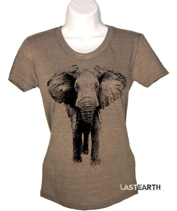 Elephant t shirt womens graphic tees mens tshirt kids for Elephant t shirt women s