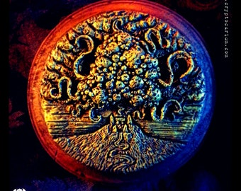 Yog-Sothoth Wall Plaque