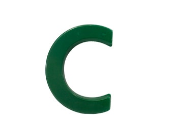 Marquee Letter C - Vintage - Signage - Plastic - Store - Sign - Capital