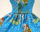 Sisters in Spring, Blue Dress for your American Girl Doll A