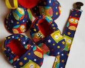 Newborn Boy Owls Gift set