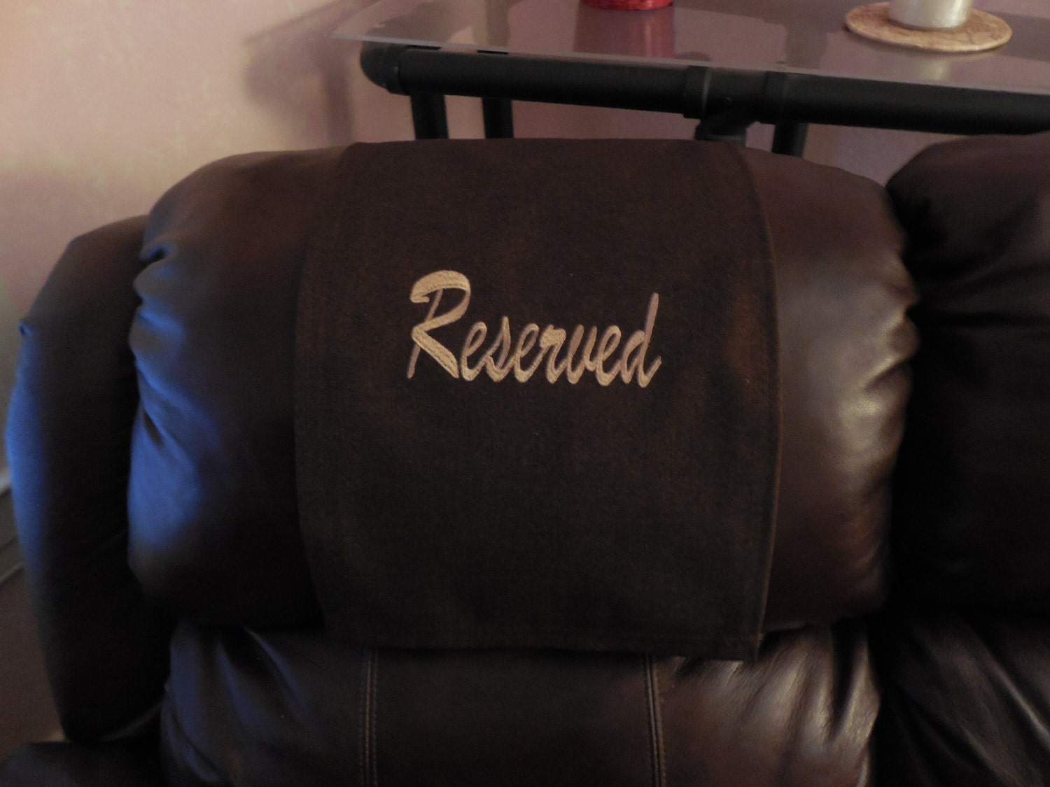 Chair Caps Headrest Pads Recliner Hd Covers By Stitchnart