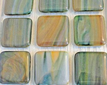 Fused Glass Drawer Knob Cabinet Knobs Green, Caramel, White Home Decor Handles Office Kitchen Handles Bathroom Furniture Knobs Pulls Handles
