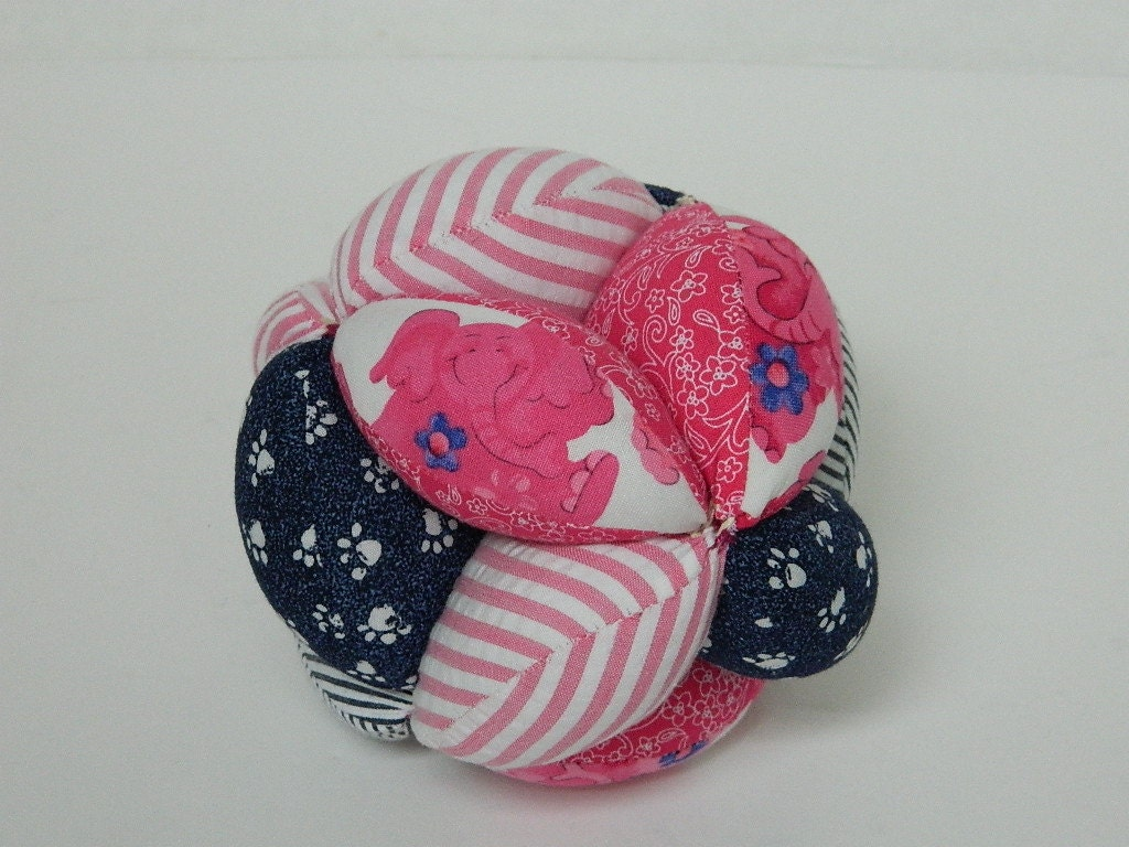 Squishy Baby Ball : Amish Puzzle Ball Toddler Take Apart Fabric Ball Soft Baby