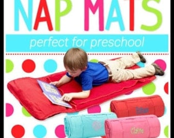 Personalized Nap Mat ~ Quick Shipping