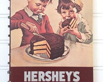 Hersheys Cookbook - Vintage Cookbook - Chocolate Chip Recipe Book - Hersheys 1934 Cookbook