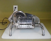 Vintage Rival 1101E/4 Chrome Meat Cheese Electric Deli Food Slicer