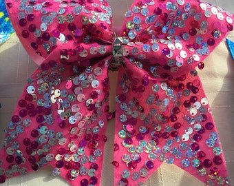 Cheer Bow - full sequin