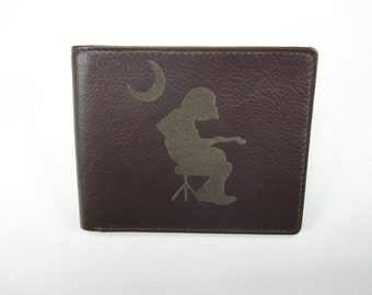 Widespread Panic Houser leather bi fold wallet- hand made premium leather