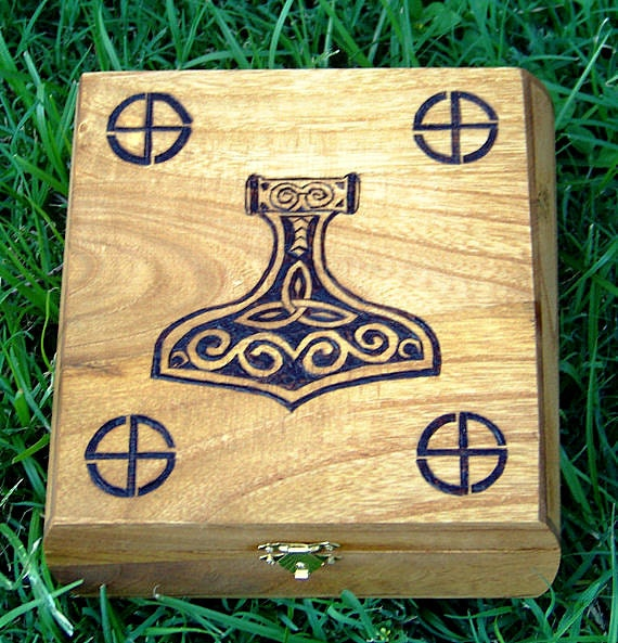 Tribute to Thor Keepsake Box