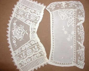 Vintage Lace Cuffs... 2 Pair