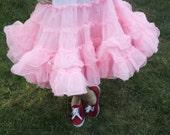 Vintage Kroenings Fashion Magic Crinoline, Pink, VERY Full, Petticoat, Can Can