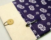 SALE - iPad Air case, iPad cover, iPad sleeve with 2 pockets, PADDED - Chrysanthemum (190)