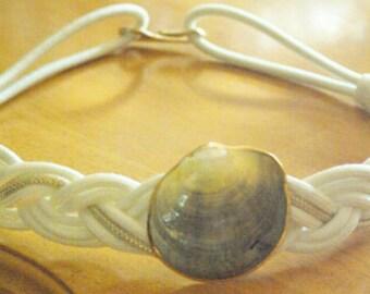 Braided Rope Belt Macrame, Macrame Knots,Sea Shell,Nautical