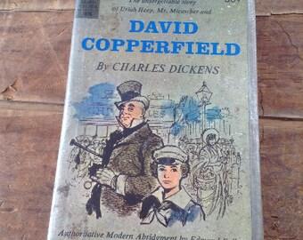 Journal, David Copperfield vintage repurposed Journal