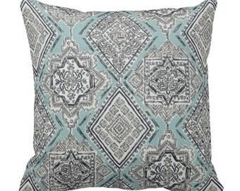 decorative pillows, blue grey pillows, pillows for couch, throw pillows, bed pillows, couch pillows, aqua pillows, aqua grey pillow, lumbars
