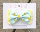 Pineapple Bow // Hair Clip or Headband