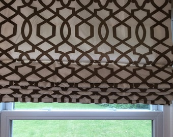 Cordless-Continuous Loop-Roman-Shade-Options - For Your Shade Needs - With Your Own Fabric - Price from