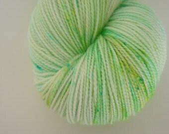 Minty fresh, 80/20 Superwash Fingering Sock Weight