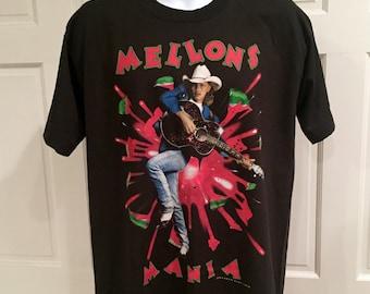 90s Country Music Tour Tshirt - MELLONS MANIA - Jukebox Junkie - Ken Mellons - L