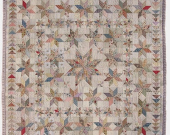 VICTORIA Quilt Pattern ENGLISH PRINTED