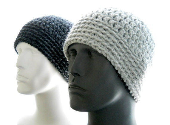 CROCHET PATTERN: The Chunky Guy Beanie for Men Hat by ...