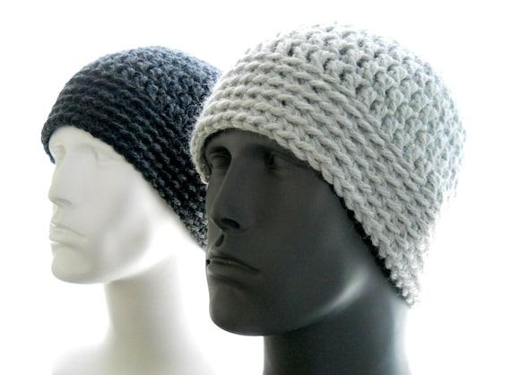 Mens Hat Crochet Pattern Chunky Yarn : CROCHET PATTERN: The Chunky Guy Beanie for Men Hat by ...
