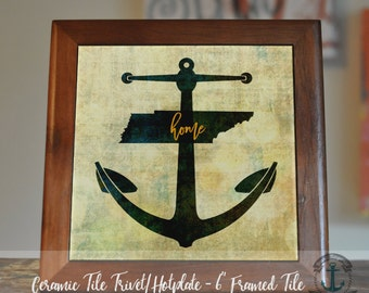"""Trivet Hot Plate:  Home Anchor Decor  