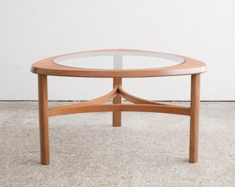 Mid Century Modern Triangle Coffee Table