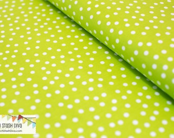 Lime Green Remix Dots From Robert Kaufman