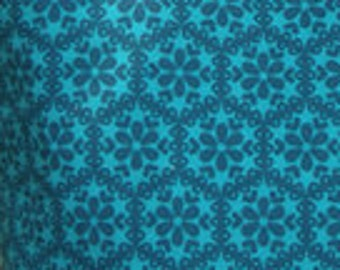 Organic Cotton - Lagoon Stitch from Robert Kaufman's Stitch Collection by Betz White