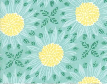 Cypress Large Sunflowers (Girasole) from Moda's Grand Canal Collection By Kate Spain