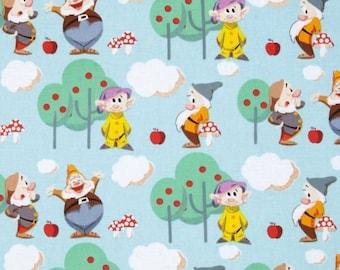 Disney's 7 Dwarfs Scenic Fabric from Springs Creative