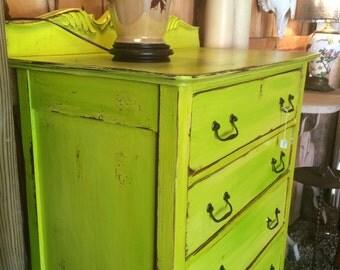Chartreuse Dresser