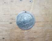Temperance Movement Washingtonian Benevolent Society Silver Coin by James Bale