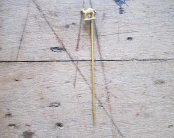 Antique Pre Prohibition Gold Camel Lapel Pin, American History Teacher Gift Ideas, Religious Father Present, Fashion Accessories for Men