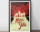 Monster Squad Movie Poster - 12 x 18 Inch Print Frankenstein and Friends