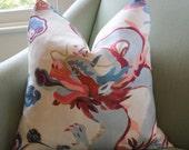 Carlton Varney Puff Chinoiserie Cushion Pillow Cover
