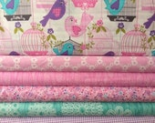 Fabric bundle for quilt or craft Michael Miller Sing Song bundle 6 Half yards
