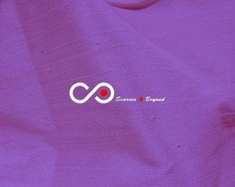 Silk Dupioni Fabric - Amethyst D379 - Section Violet - 1 yard 100% Silk Dupion