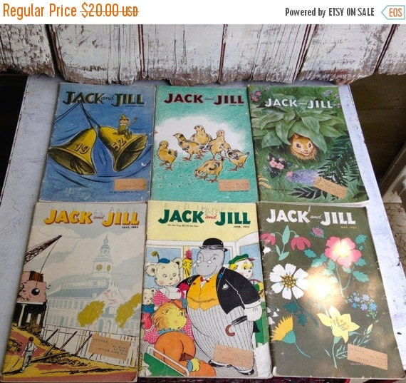 Jack and jill magazines vintage magazines by for Jack and jill stories