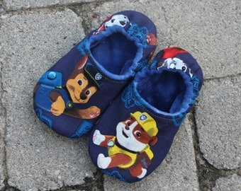 Children's Slippers/Preschool Shoes with Paw Patrol, RED ONLY